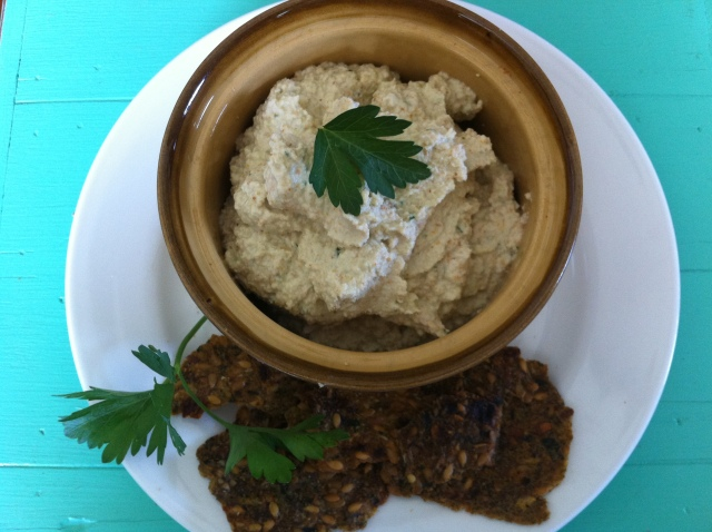 Raw Almond Hummus